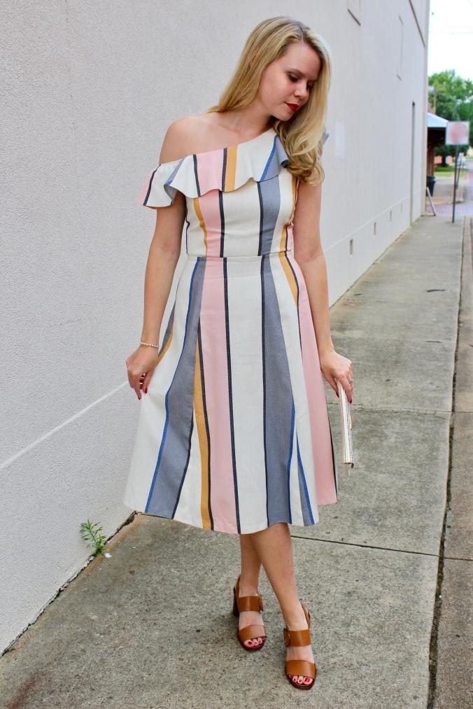 Pastel Midi Dress